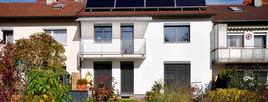 Architekturbüro Sindelfingen energetische sanierung reihenhaus zu einem kfw effizienzhaus