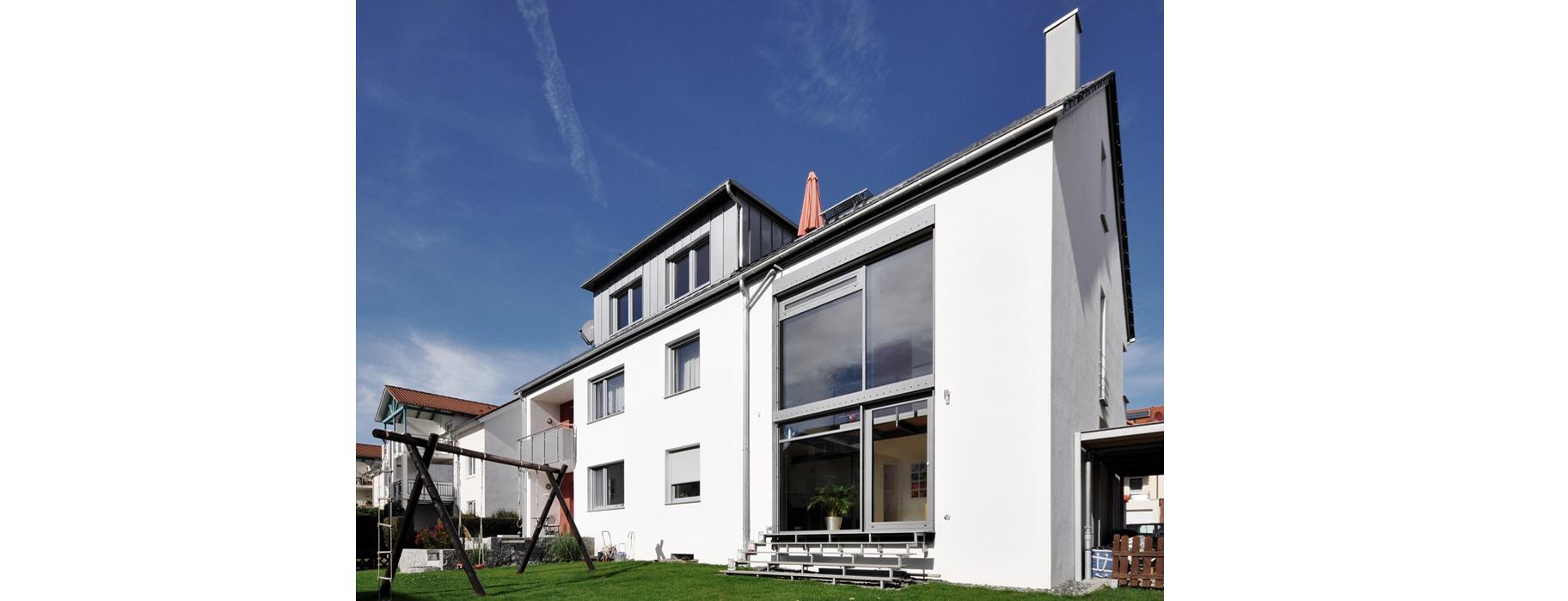 Architekturbüro Sindelfingen umbau erweiterung und sanierung kfw effizienzhaus sindelfingen ae